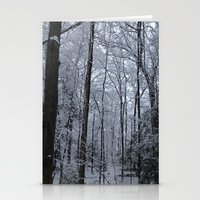Wooded Winter Wonderland Stationery Cards