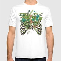 Daydreamer Mens Fitted Tee White SMALL