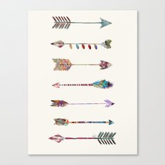seven arrows Canvas Print