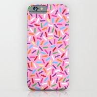 Pink Donut with Sprinkles iPhone 6 Slim Case