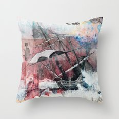 Graceful Attempt Throw Pillow