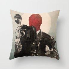 Solar Lens Throw Pillow