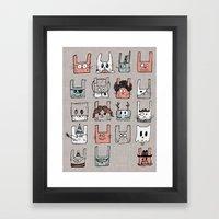 Bunnies Framed Art Print