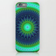 iPhone & iPod Case featuring Winter Mandala by David Zydd