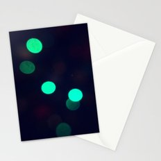 Green Spots Stationery Cards