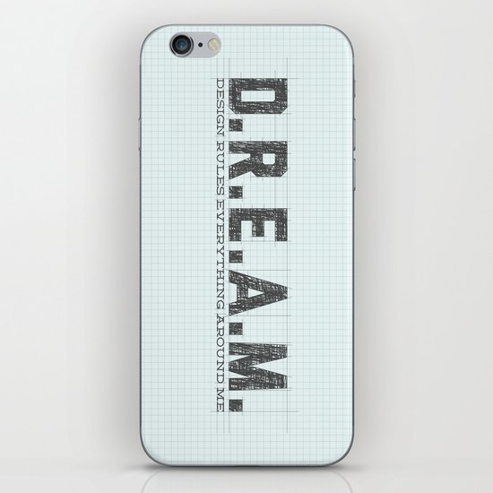 Design Rules Everything Around Me iPhone & iPod Skin