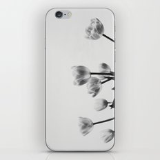 Black & White Tulips iPhone & iPod Skin