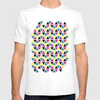CMYK II Mens Fitted Tee White SMALL