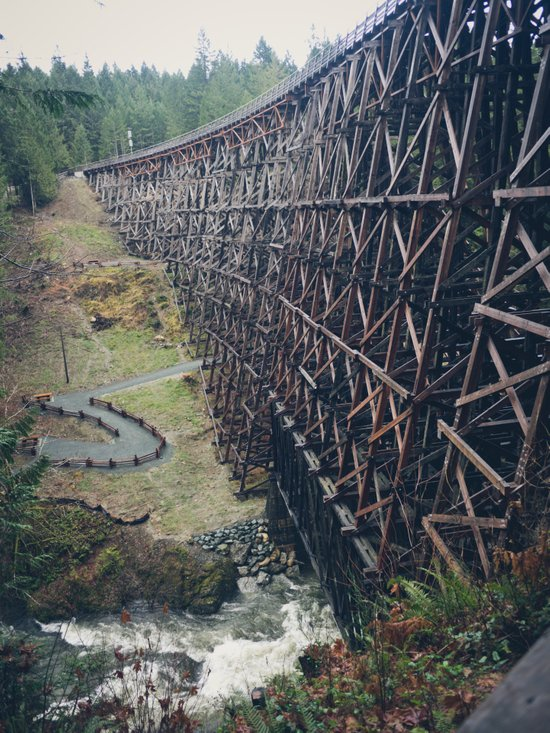 Largest Trestle in the Commonwealth Canvas Print