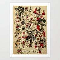 Fairy Tales Poster Print Art Print