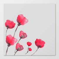 POPPIN' POPPIES  Canvas Print