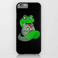 iPhone Cases featuring Cat Personality by mailboxdisco