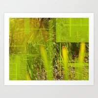 The Green Grass  Art Print