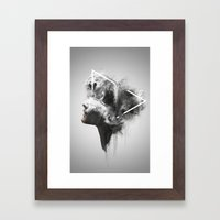 Nefretete Framed Art Print