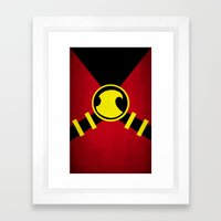 Red Robin Framed Art Print