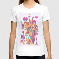 Schema 6 Womens Fitted Tee White SMALL