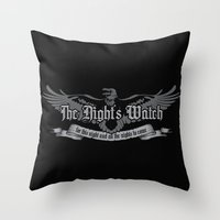 The Night's Watch Throw Pillow