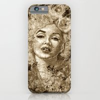 Blonde Bombshell - Sepia… iPhone 6 Slim Case