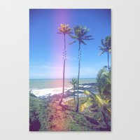 Fragmented Palm Canvas Print