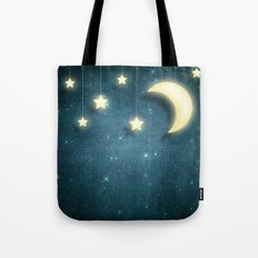 Moon & Stars 01 Tote Bag