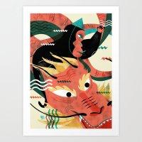 CHINESE NEW YEAR'S EVE Art Print