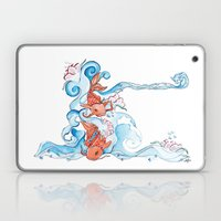 Aqua Laptop & iPad Skin