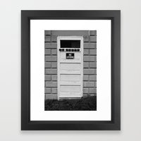 No Loitering Framed Art Print