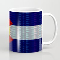 Colorado Flag/Geometric Mug