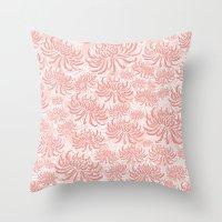 Go Orient Chrysanthemum Throw Pillow