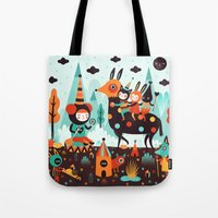 The Spirit Walker Tote Bag