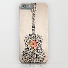 Guitar Notes iPhone 6 Slim Case