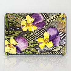 Pansies iPad Case