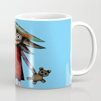 Girl vith teddy bear Mug