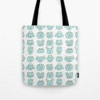 Animal Cuteness Tote Bag