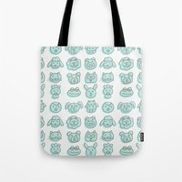 animal cuteness Tote Bag