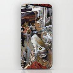 E Train Wolves iPhone & iPod Skin