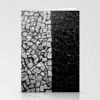 Black And White On The S… Stationery Cards
