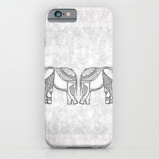Indian Elephants iPhone & iPod Case