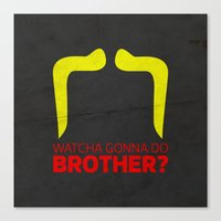 Brother Canvas Print