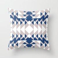 Pattern Print Edition 1 No. 6 Throw Pillow