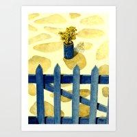 Greek Memories No. 8 Art Print