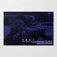 Movie Poster - Heat (Pac… Canvas Print