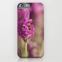 iPhone & iPod Case featuring Lavender by carolinemia
