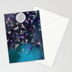 Midnight Birds Stationery Cards