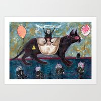 Felis Domesticus Game Art Print