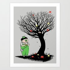 The Egg Collector Art Print