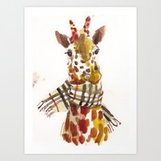 Longneck Art Print