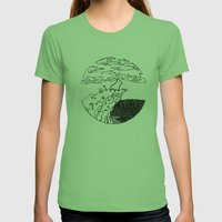The Chosen One Womens Fitted Tee Grass SMALL