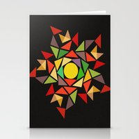 August sunset Stationery Cards