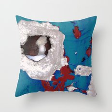 Urban Abstract 108 Throw Pillow